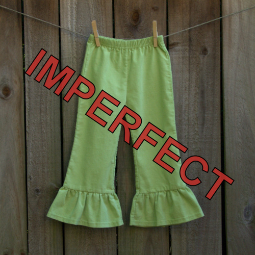 IMPERFECT Girl's Corduroy Ruffle Pants
