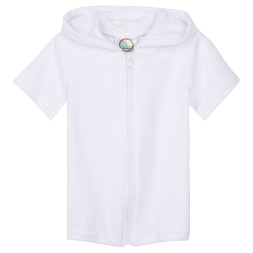 IMPERFECT Blank Boy's Terry Cloth Swim Cover Shirt