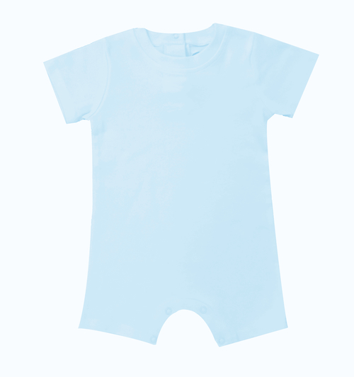 Blank Boy's Short Sleeved Romper