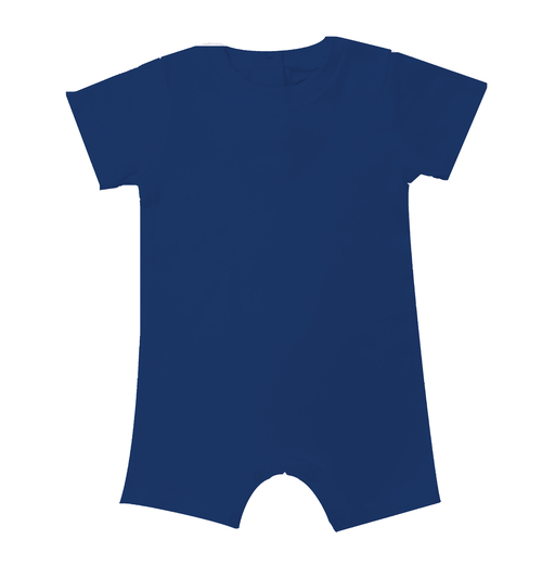 IMPERFECT Blank Boy's Short Sleeved Romper