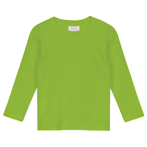 Blank Boy's Long Sleeve Tee Shirt