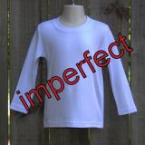 IMPERFECT Blank Boy's Long Sleeve Tee Shirt