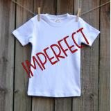 IMPERFECT Blank Boy's Short Sleeve Tee Shirt