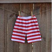 IMPERFECT Boy's Striped Shorts