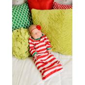 2018 Blank Christmas Pajamas - INFANT GOWN
