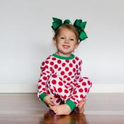 2017 Blank Christmas Pajama Set