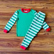 IMPERFECT  Blank Christmas Pajama Set