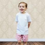 Blank Boy's Short Sleeve Tee Shirt