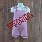 IMPERFECT Blank Girly Tie Top Bubble Romper