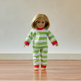 IMPERFECT 2016 Blank Christmas Pajamas - 18 INCH DOLL