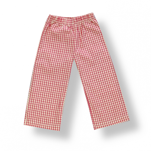 Boy's Gingham Pants