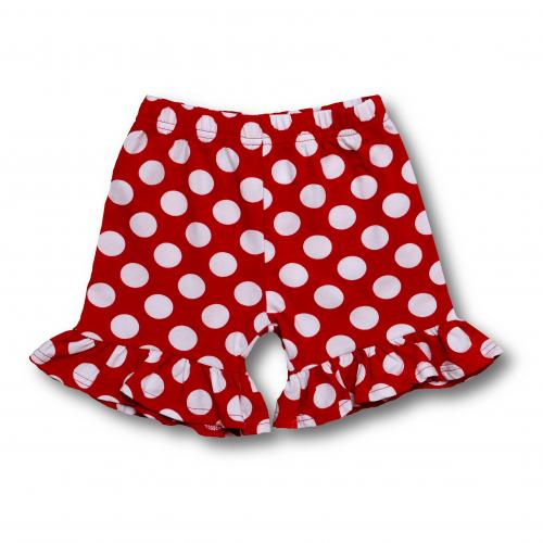 Girl's Polka Dot Shorts